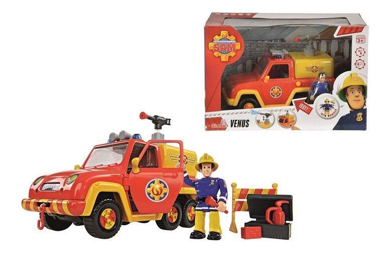 poškozený obal: SIMBA TOYS: Požárník Sam: Hasičské auto