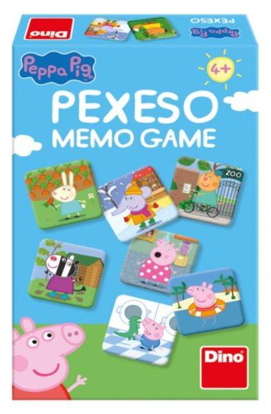 Rodinná hra Prasátko Pepa - Pexeso, DINO