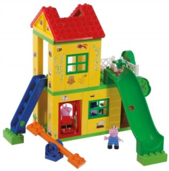 PlayBIG BLOXX Prasátko Pepina - Domeček na hraní