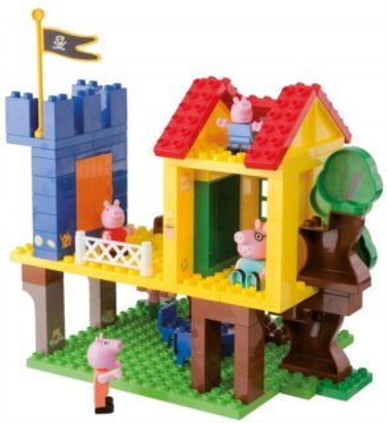 PlayBIG BLOXX Prasátko Pepina - Domek na stromě