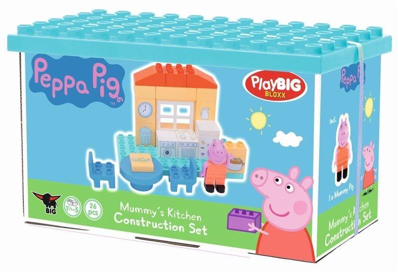 PlayBIG BLOXX Prasátko Peppa: Maminčina kuchyně