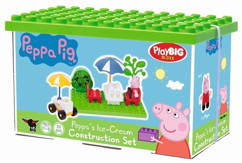 PlayBIG BLOXX Prasátko Peppa: Na zmrzlině