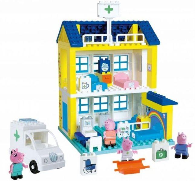 PlayBIG BLOXX Prasátko Pepina - Nemocnice