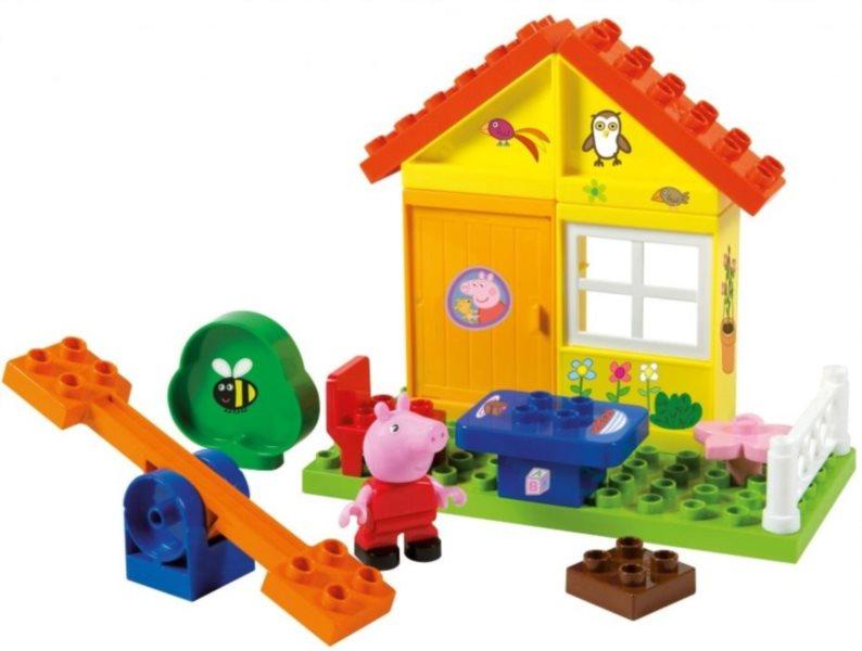 PlayBIG BLOXX Prasátko Pepina - Zahradní domek