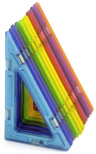 Magnetická stavebnice MAGFORMERS Pravoúhlé trojúhelníky 12 ks ve fólii
