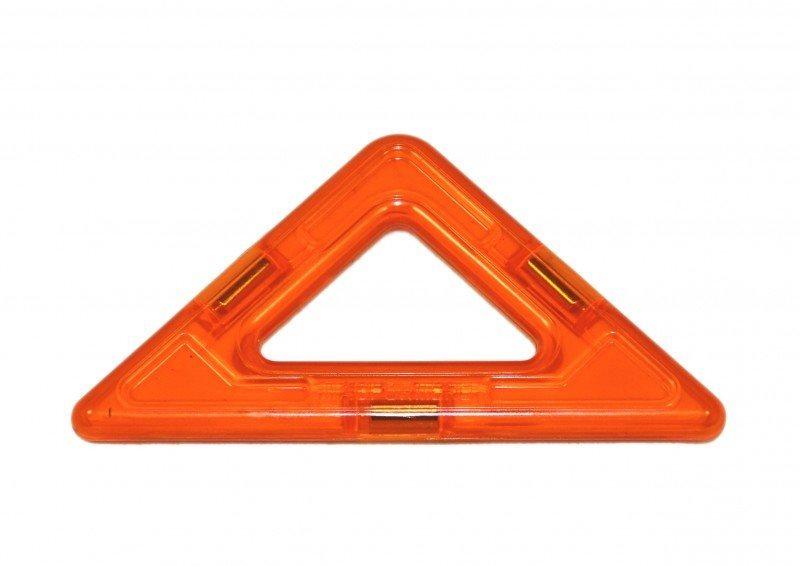 Magnetická stavebnice MAGFORMERS Pravoúhlý trojúhelníček 1 kus