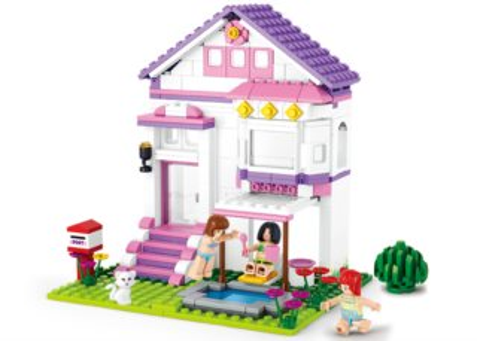 Stavebnice SLUBAN Prázdninový dům
