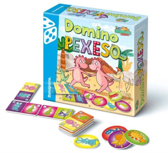 Prehistoric Junior: Pexeso a Domino