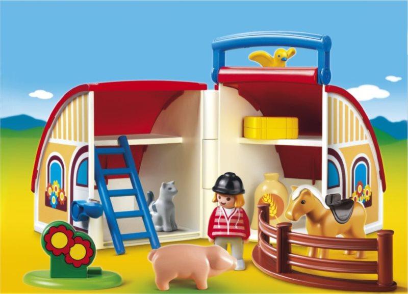 Playmobil 6778 Přenosná stodola (1.2.3)
