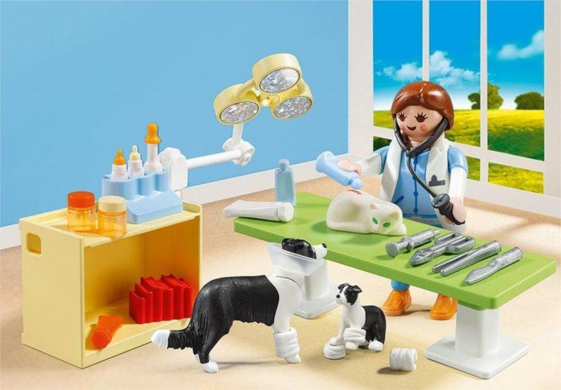 Playmobil 5653 Přenosný box: Návštěva u veterináře