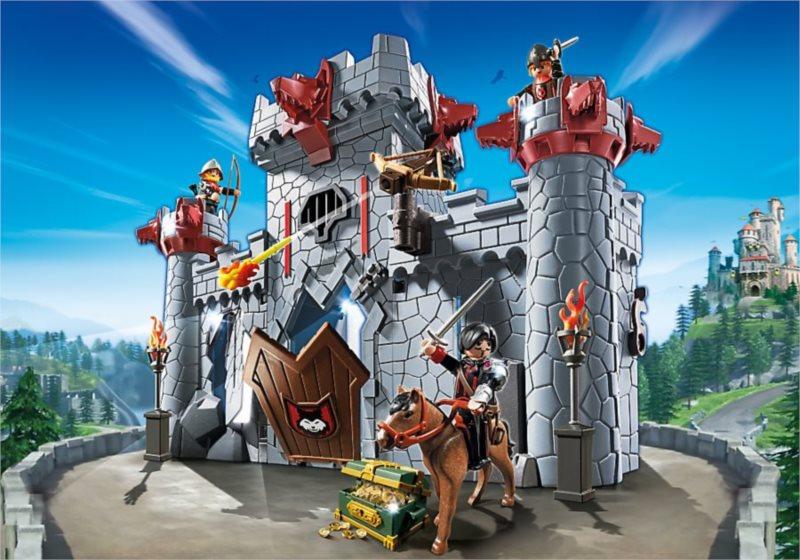 Playmobil 6697 Super 4: Přenosný hrad Černého barona