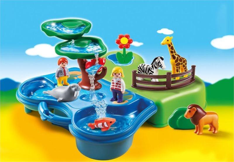 Playmobil 6792 Přenosný vodní koutek v ZOO (1.2.3)