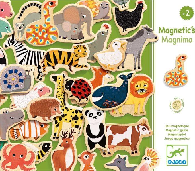 DJECO Magnetická zvířátka ze ZOO