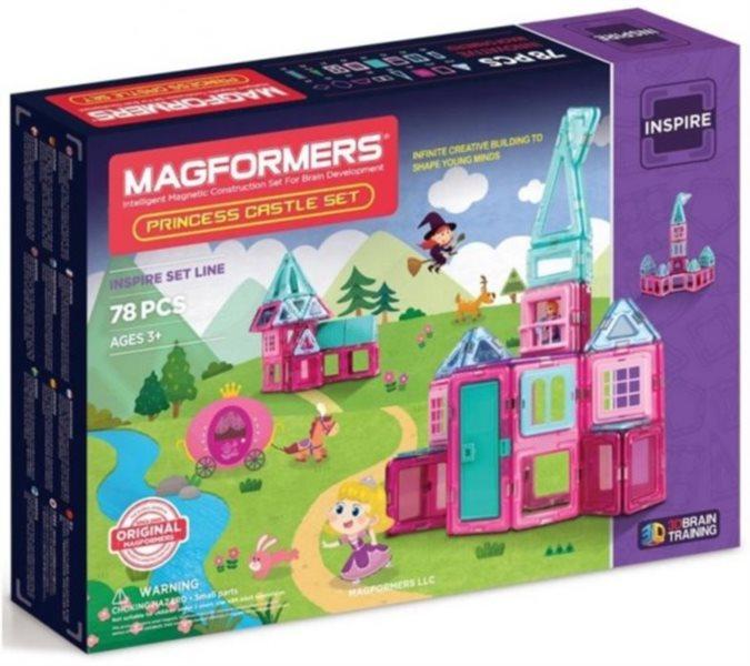 Magnetická stavebnice MAGFORMERS Princess Castle Set