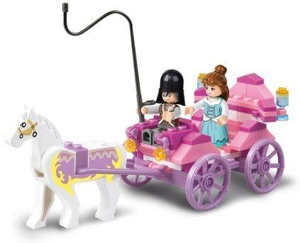 Stavebnice SLUBAN Princeznin kočár