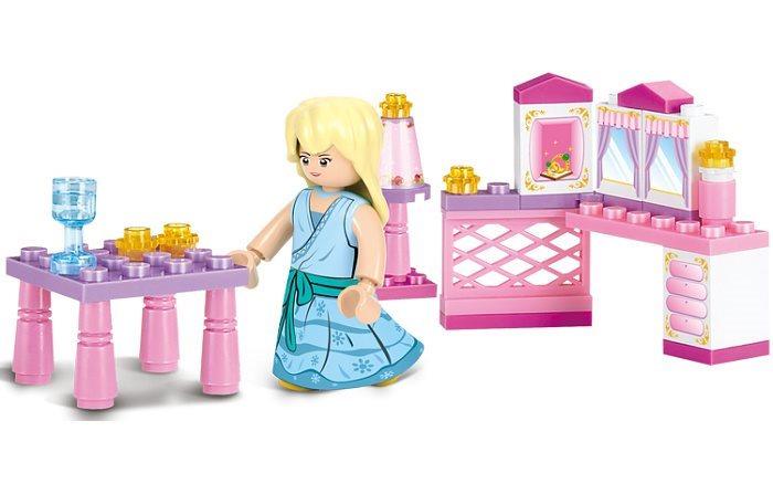 Stavebnice SLUBAN Princeznin pokojíček