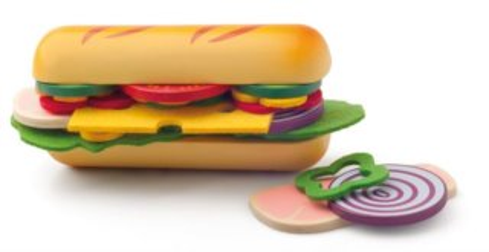 Připrav si svůj hamburger WOODY