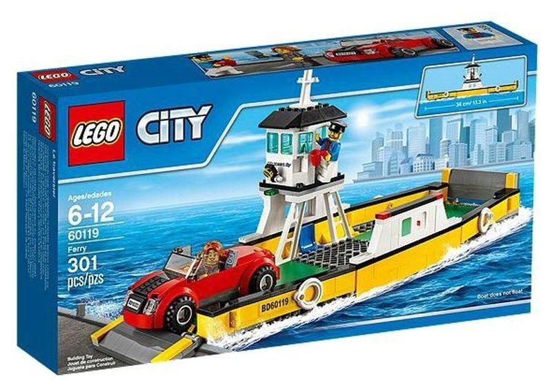 Stavebnice LEGO® City – 60119 Přívoz