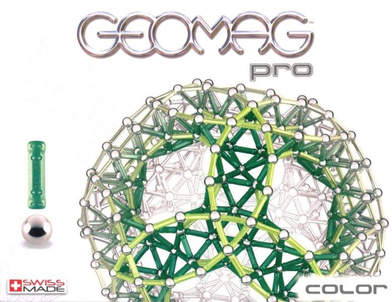 Magnetická stavebnice GEOMAG - Pro Color 66 dílků