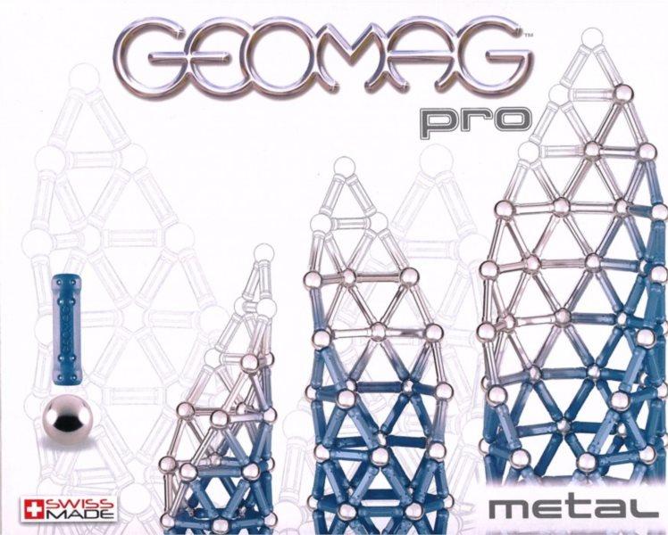 Magnetická stavebnice GEOMAG - Pro Metal 44 dílků