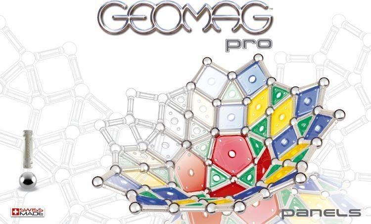 Magnetická stavebnice GEOMAG - Pro Panels 176 dílků