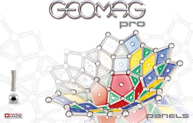 Magnetická stavebnice GEOMAG - Pro Panels 200 dílků
