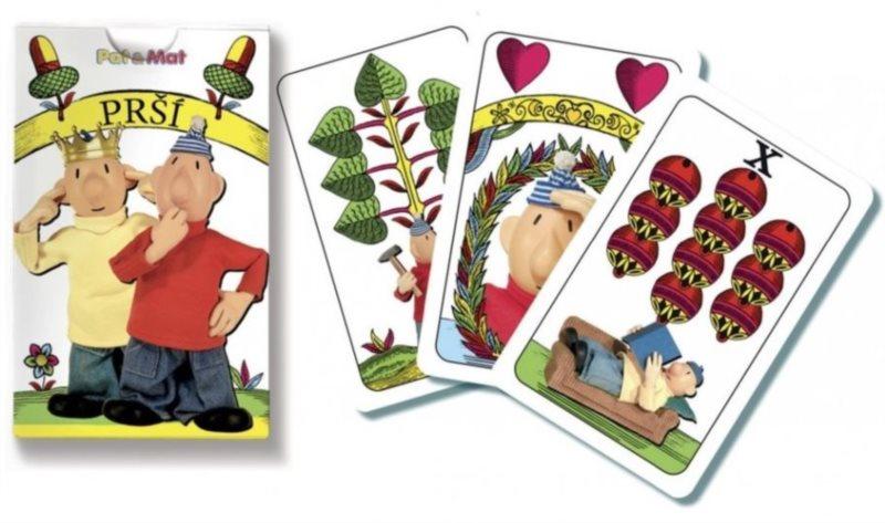 Dětské karty Prší - Pat a Mat, BONAPARTE