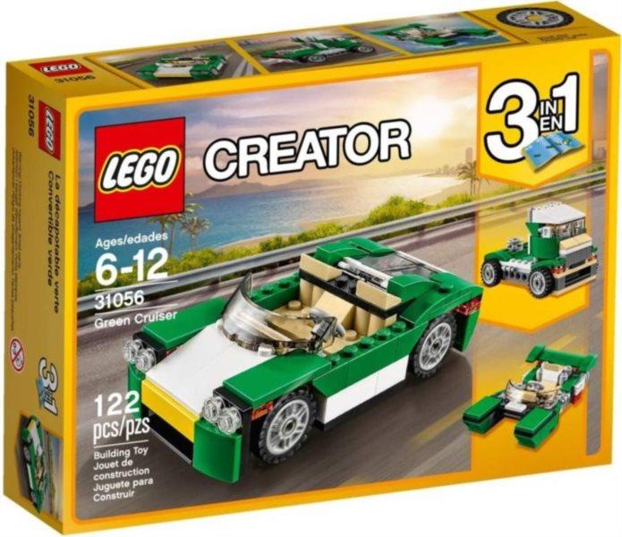Stavebnice LEGO® Creator 31056 Zelený rekreační vůz