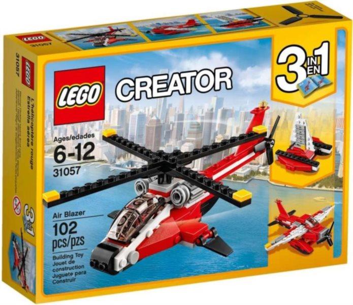 poškozený obal: Stavebnice LEGO® Creator 31057 Průzkumná helikoptéra