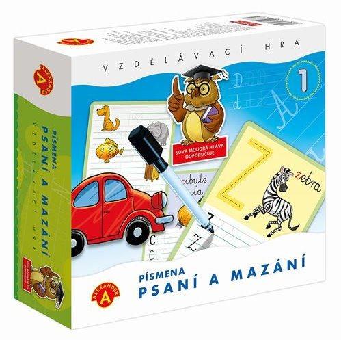 ALEXANDER Dětská vzdělávací hra Psaní a mazání 1 - Písmenka