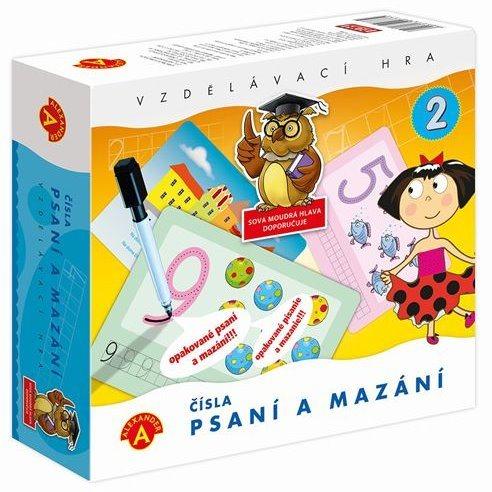 ALEXANDER Dětská vzdělávací hra Psaní a mazání 2 - Čísla