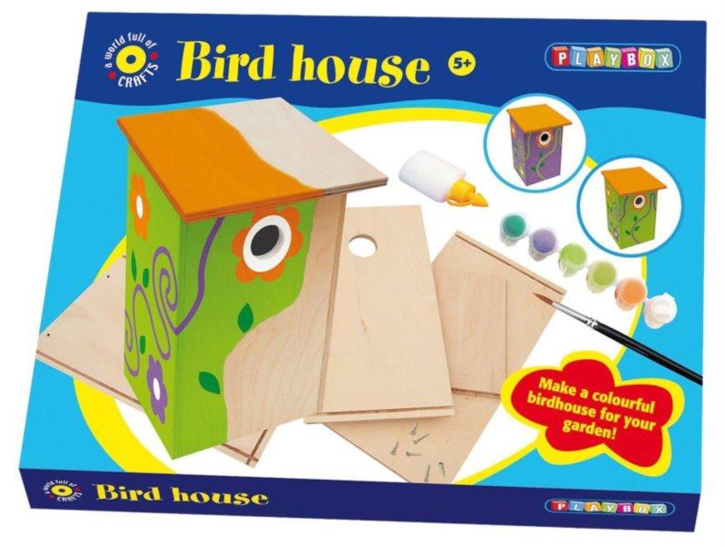 PLAYBOX poškozený obal: Ptačí budka