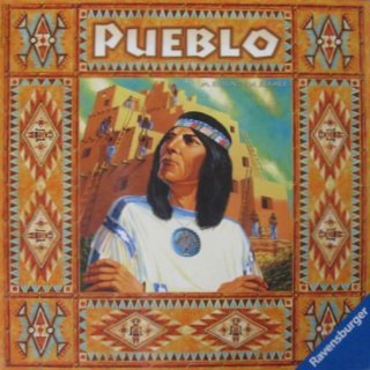 Rodinná hra Pueblo, RAVENSBURGER (v němčině)