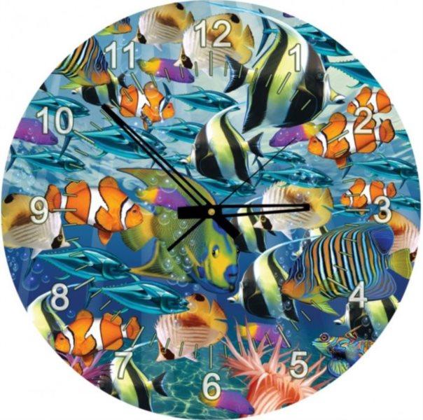 ART PUZZLE Puzzle hodiny Svět mořských ryb 570 dílků