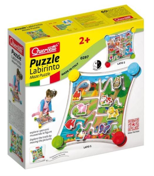Labyrintová hra QUERCETTI Puzzle Labirinto
