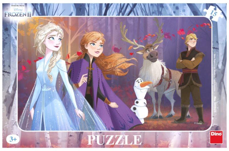 DINO Puzzle Ledové království 2, 15 dílků