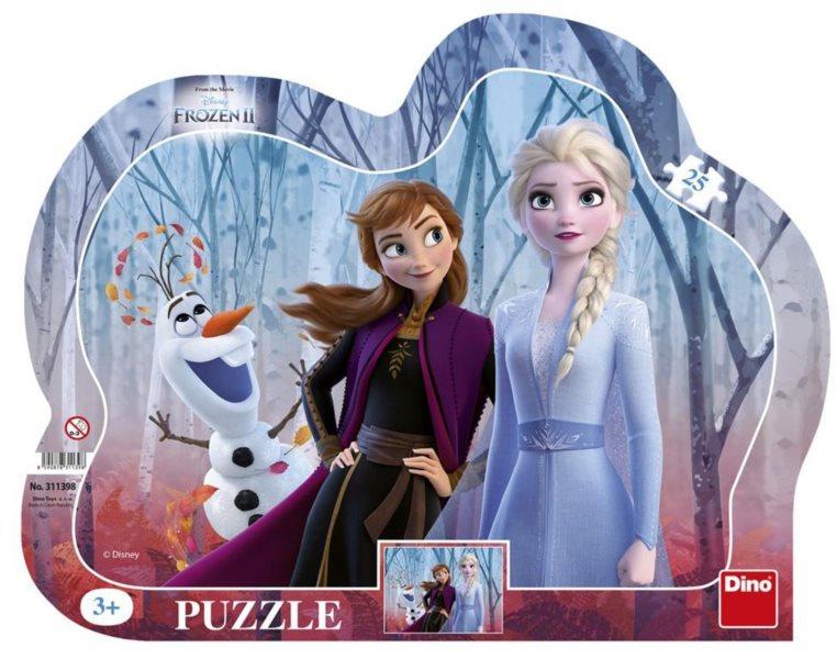 DINO Puzzle Ledové království 2, 25 dílků