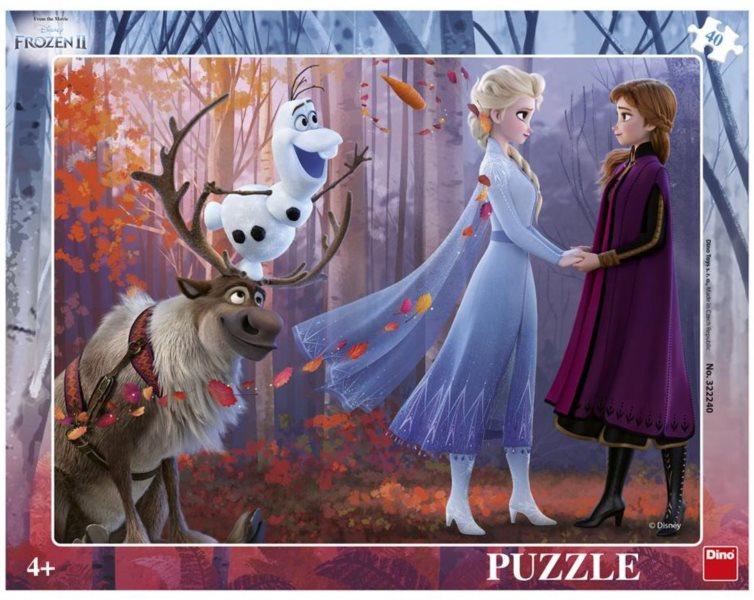 DINO Puzzle Ledové království 2, 40 dílků