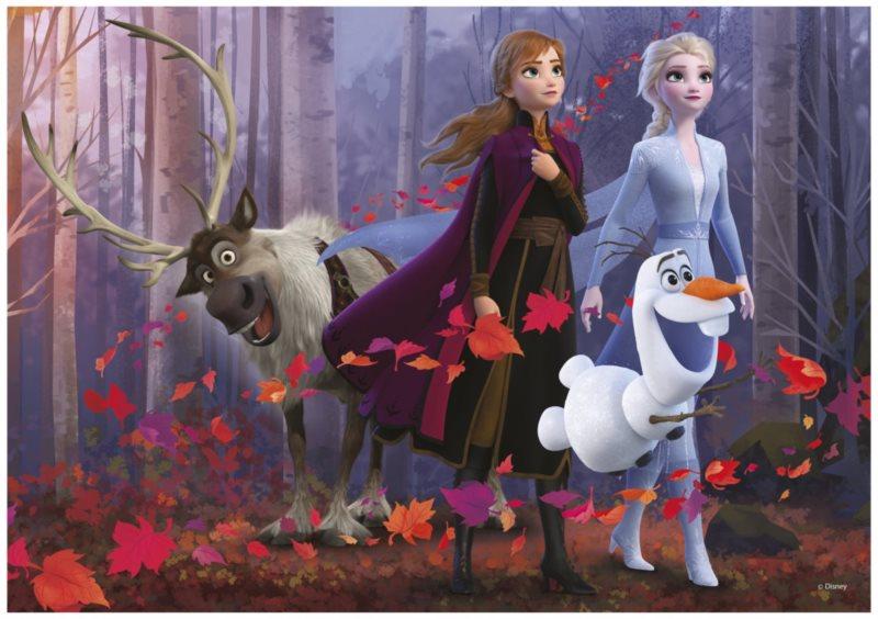 DINO Puzzle Ledové království 2 XL 300 dílků