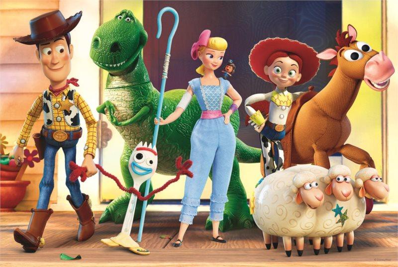 TREFL Puzzle Toy Story 4: Příběh hraček 100 dílků