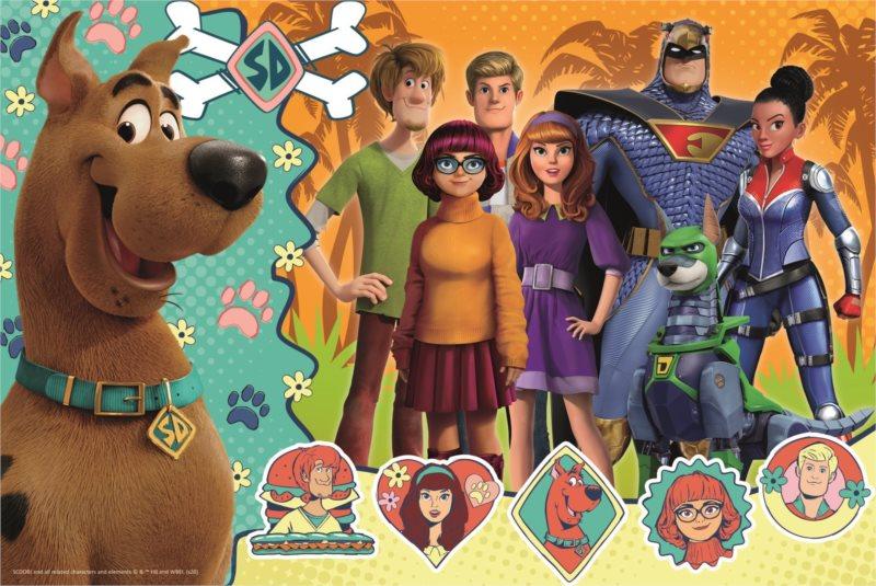 TREFL Puzzle Scoob: Scooby Doo v akci 160 dílků