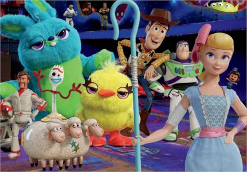 EDUCA Puzzle Toy Story 4: Příběh hraček 200 dílků