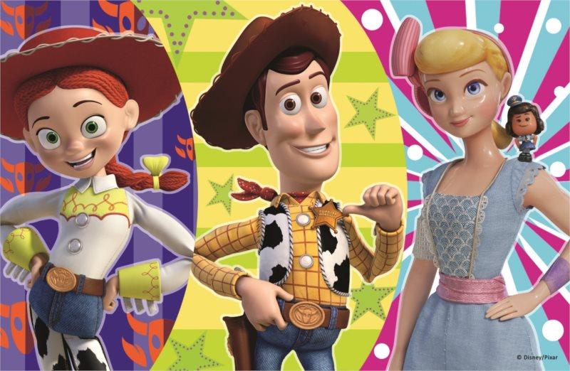TREFL Puzzle Toy Story 4: Woody, Pastýřka a Jessie 54 dílků