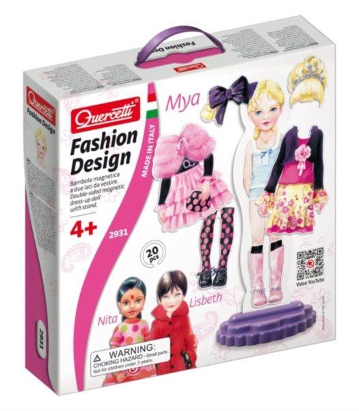 QUERCETTI Fashion Design oblékací panenka Mya