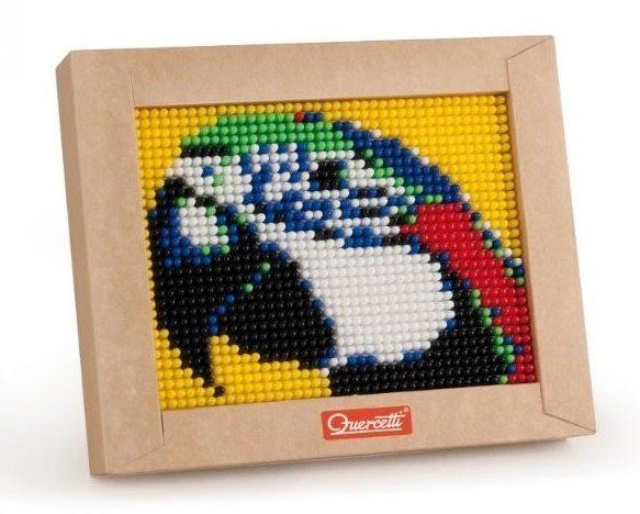 QUERCETTI Pixel Art Mini - papoušek