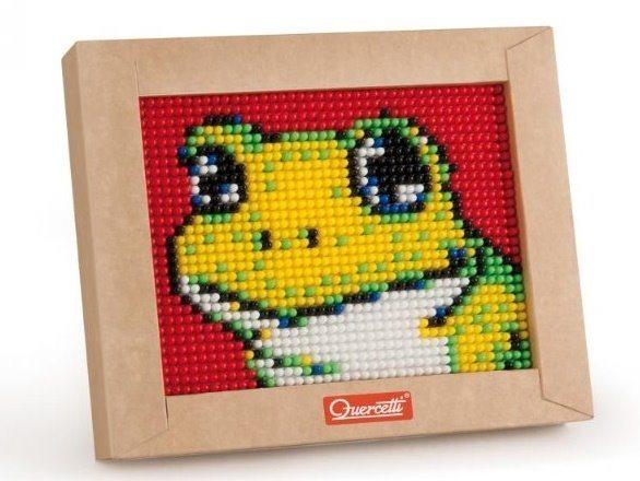 Mozaika QUERCETTI Pixel Art Mini - žába