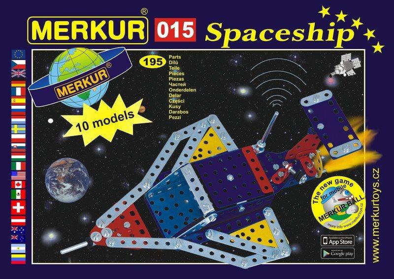 Stavebnice MERKUR - Raketoplán M015