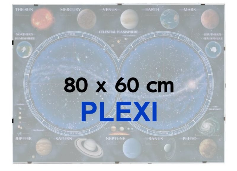 BFHM Rám na puzzle Euroclip 80x60cm (plexisklo)
