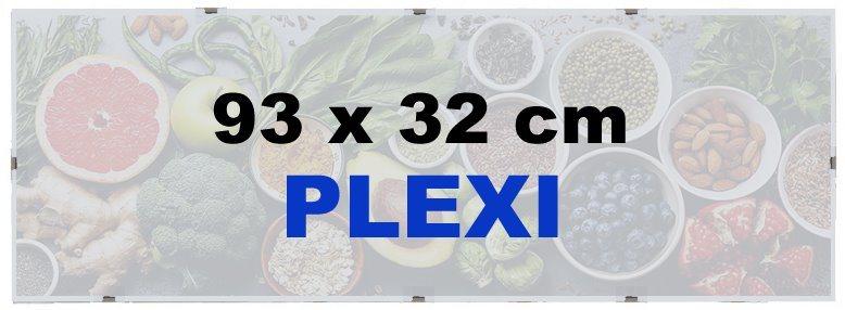 BFHM Rám na puzzle Euroclip 93x32cm (plexisklo)