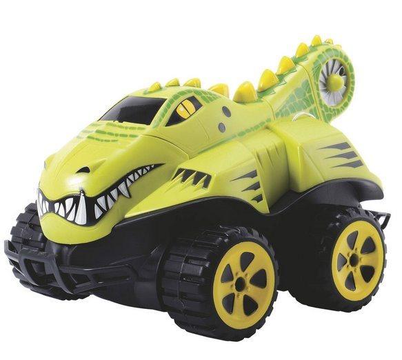 DICKIE TOYS: RC Auto na dálkové ovládání: Dino krokodýl